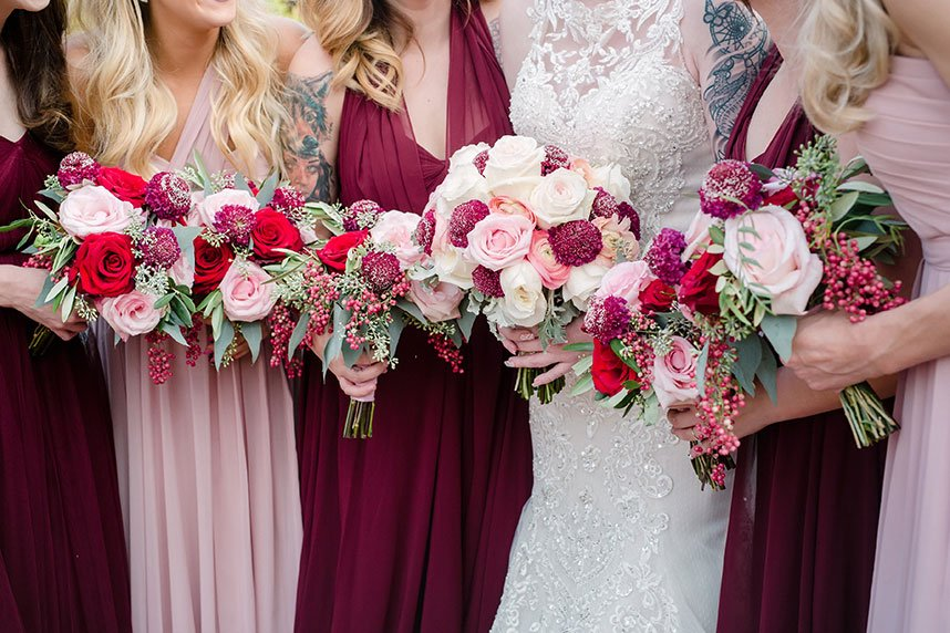 Sara Humphreys Weds Lonnie Clark | Enchanted Rustic Wedding at Rose Briar Place