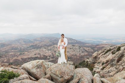 Lindsey + Sean's Picturesque Bridal Day After Session Oklahoma Wedding Photographer Andi Bravo Photography
