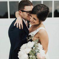 Robin Rainey Weds Sam Kiehl Whimsical Backyard Wedding by XO Flowers + Events