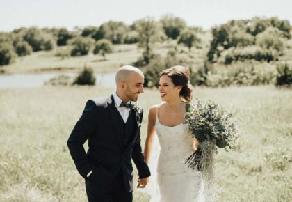 Kacee Allison Weds Majed Gharfeh Boho Oklahoma Wedding at Rosemary Ridge