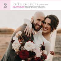 countdown to the brides of oklahoma cover - two cute couples