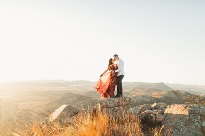 Breathtaking Mountain Engagement Shoot Oklahoma Wedding Photographer Emily Nicole Photo