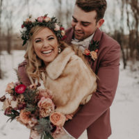 Jamie Jekel Weds Riley Benda Rustic New Year's Eve Wedding Captured by Peyton Rainey Photography