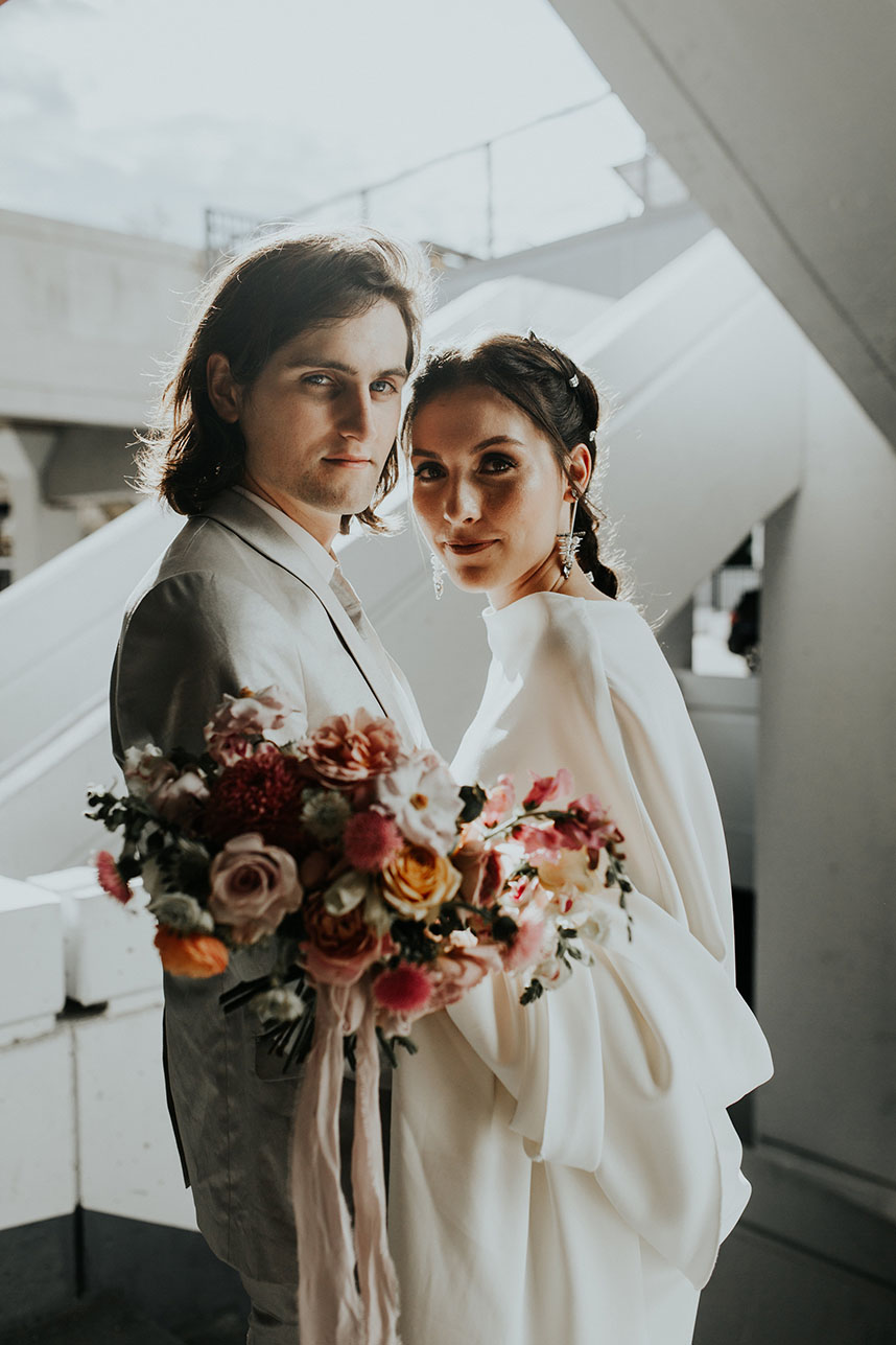 Bailey Lafitte Weds Cale Chronister Modern Tulsa Wedding