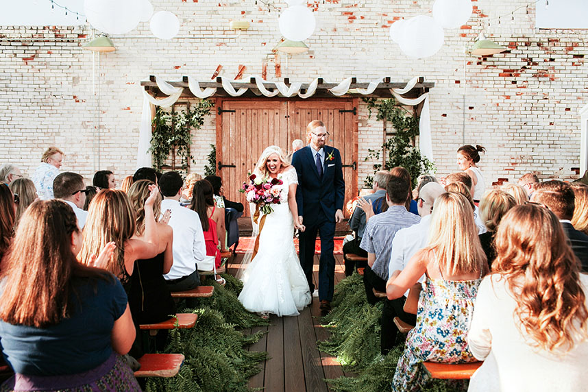 Katie Jones Weds Ryan Ellison Charming Oklahoma Wedding at Plenty Mercantile