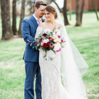 Katie Riojas Weds Steed Tyler Rustic Spring Oklahoma Wedding by Embellished Weddings
