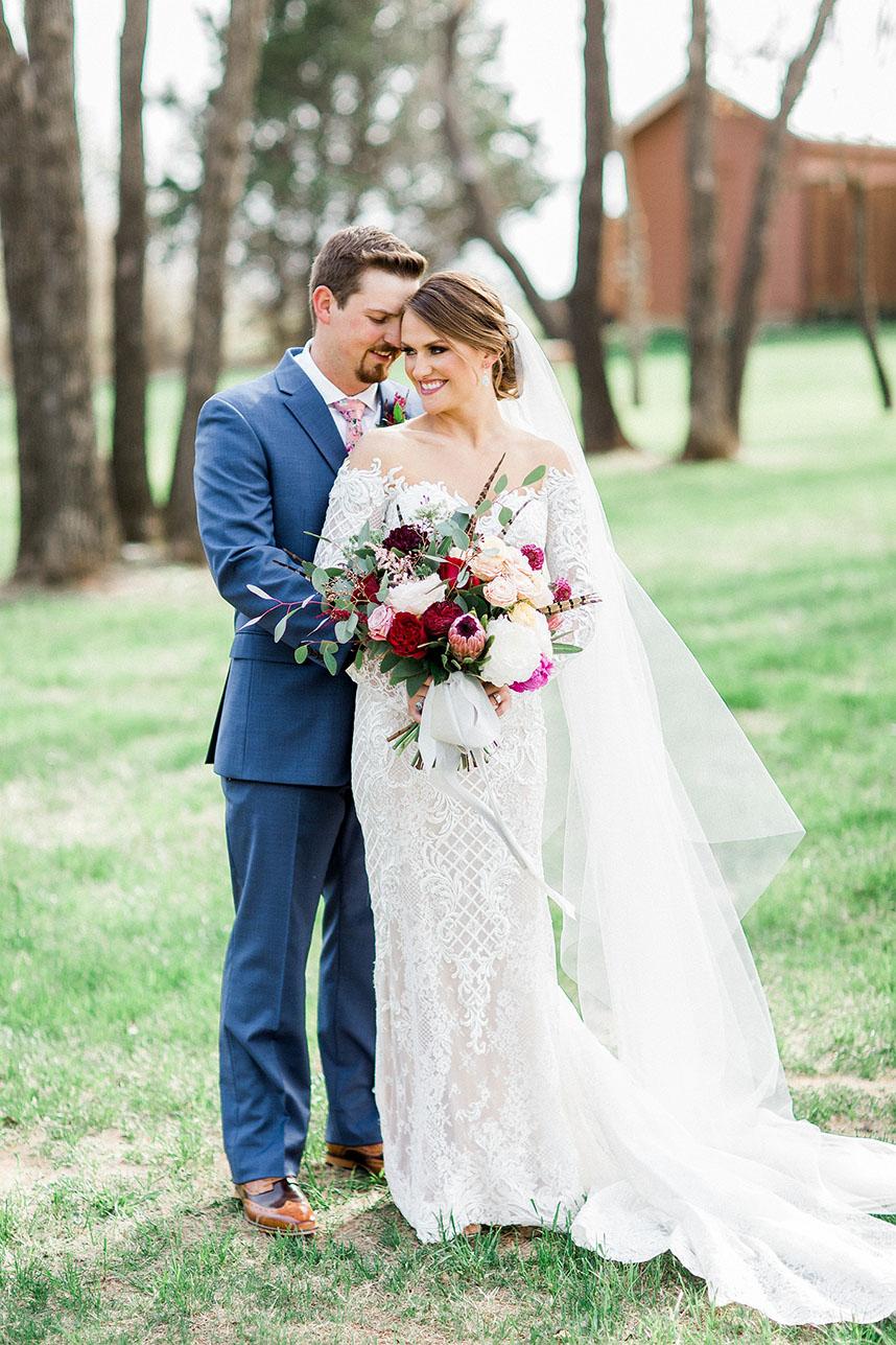 Katie Riojas Weds Steed Tyler Rustic Spring Oklahoma Wedding by Embellished Weddings