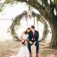 Lauren Mandrino Weds Dustin Ragusa Vibrant Boho Wedding Captured by Sarah Libby Photography