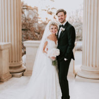 Leslie Gile Weds Dylan Erwin Romantic Art Deco Wedding by Marie Rose Events
