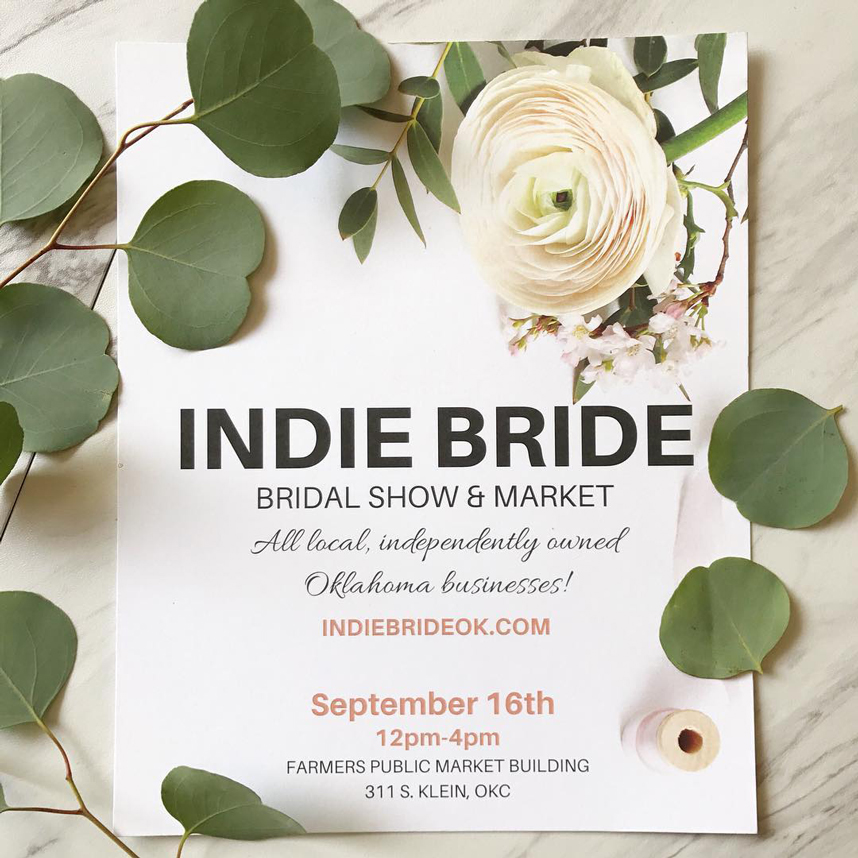 Indie Bride Bridal Show & Market September 16