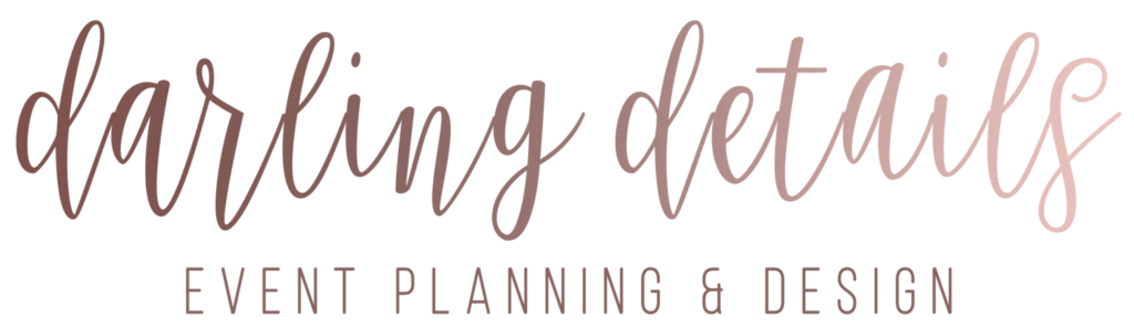 Darling Details Event Planning & Design - Oklahoma Wedding Wedding Planner