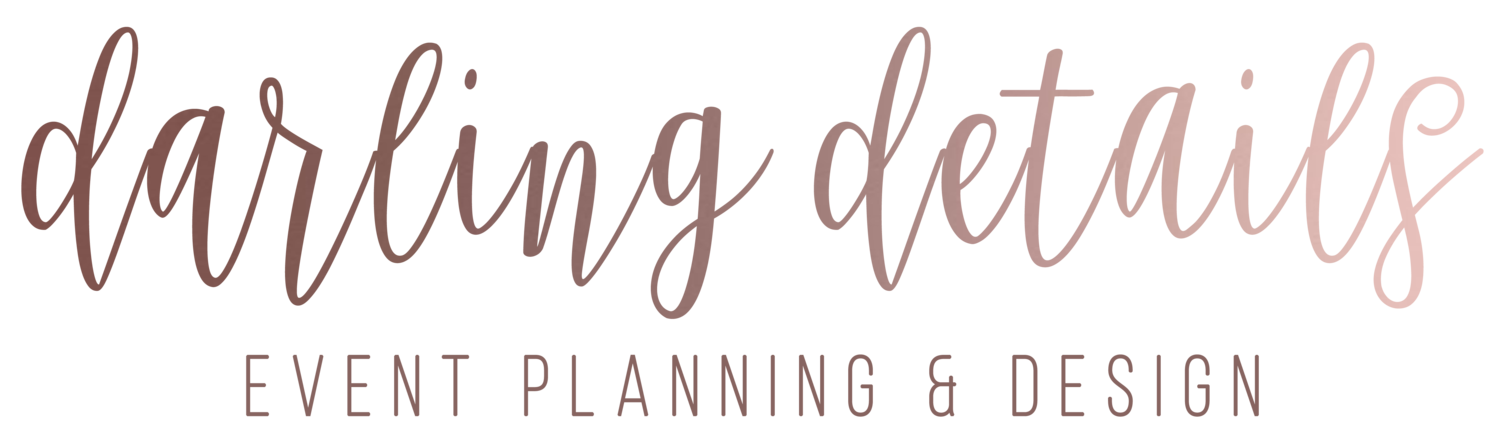 Darling Details Event Planning & Design Wedding Planner