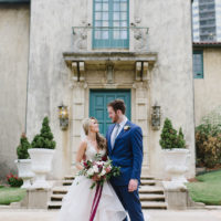 Jordan Berry Weds Kyle Detwiler Fall Brunch Wedding at Dresser Mansion