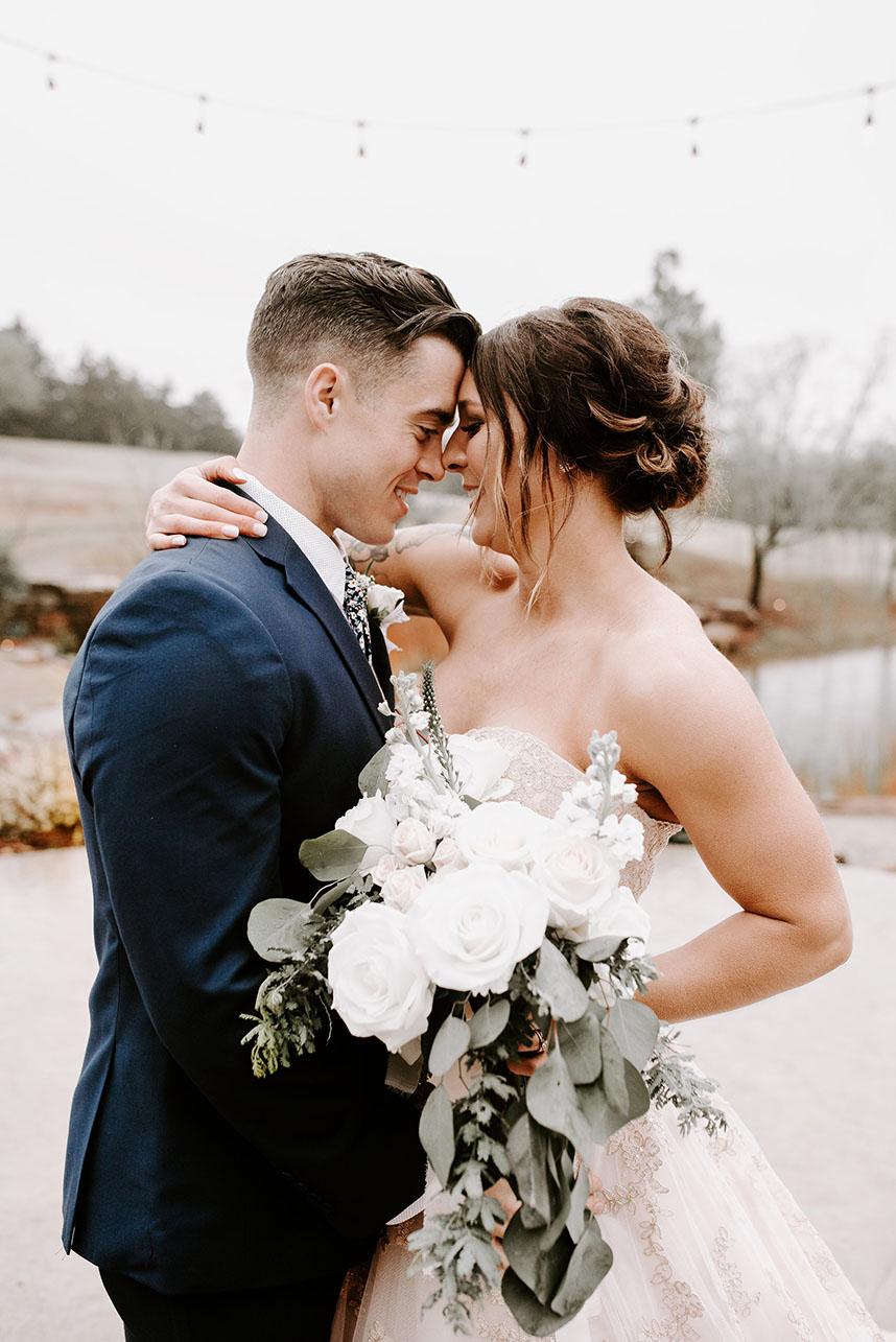 Lorin Brown Weds Toby Johnson Romantic Rustic Oklahoma Wedding from Embellished Weddings