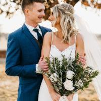 Alexandra Kimmel Weds Hunter Meyn | Vintage Industrial Oklahoma Wedding from Allyson Whitney Designs