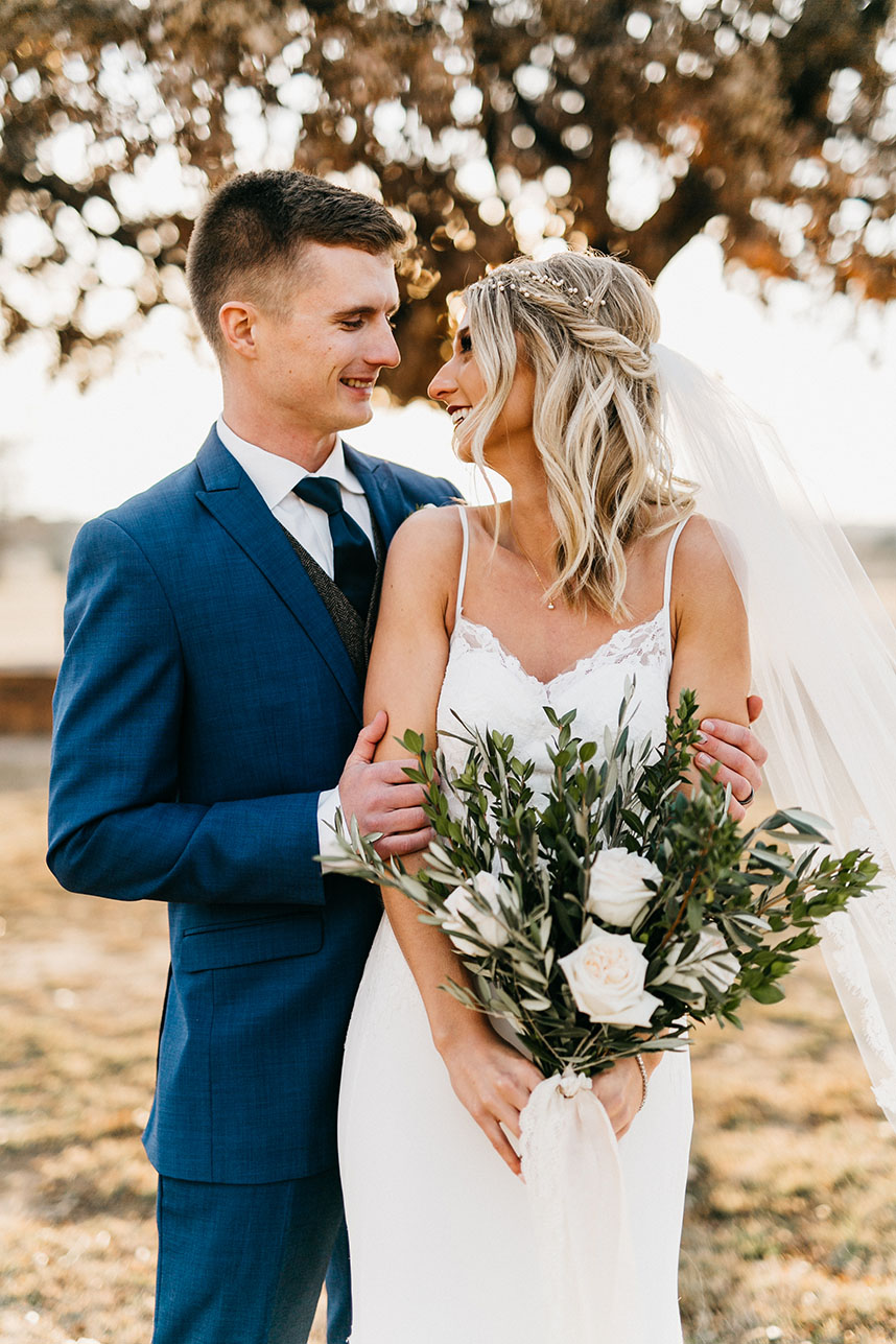 Alexandra Kimmel Weds Hunter Meyn | Vintage Industrial Oklahoma Wedding from Allyson Whitney Designs