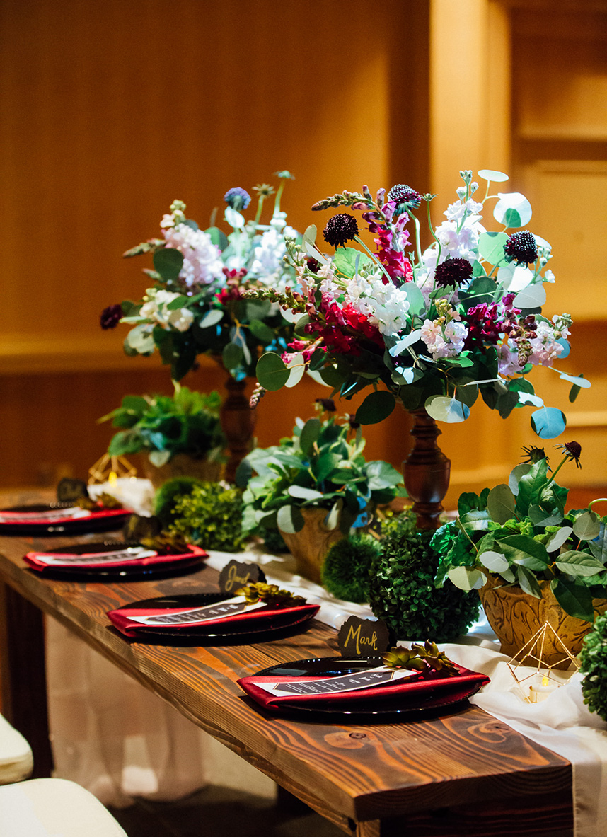 gorgeous floral arrangements