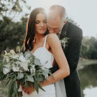 Lise Morand Weds Alex Duggar Modern Greenery Filled Barn Wedding at Spain Ranch