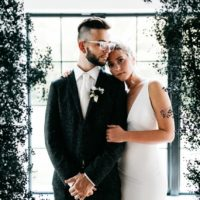 Moody-Chic Black Barn Styled Shoot Oklahoma Wedding Photographer Kailey Watson Photography