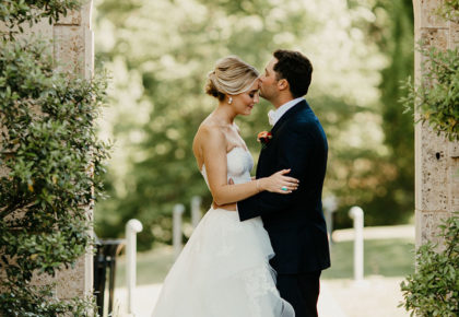 Andrea Pickryl Weds Seth Donovan Secret Garden Inspired Oklahoma Wedding from Leslie Herring Events