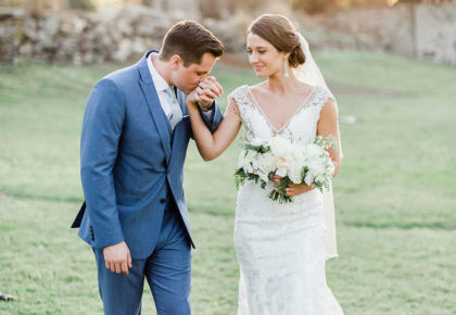 Caiti Schultz Weds Garrett Parr Elegant Oklahoma Wedding Captured by Tammy Odell Photography
