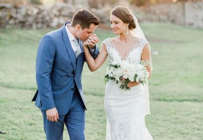 Caiti Schultz Weds Garrett Parr Elegant Oklahoma Wedding Captured by Tammy Odell Photography