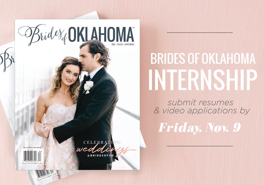 brides of oklahoma winter break and spring semester internship
