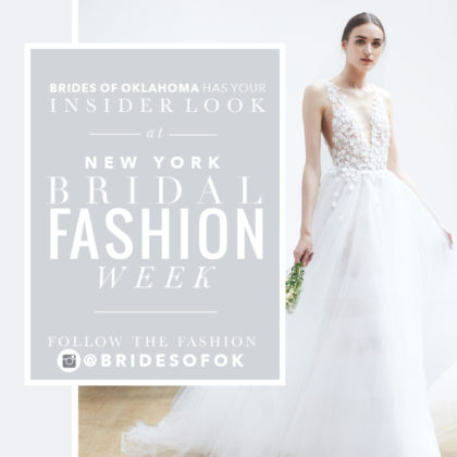 2019 bridal fashion week