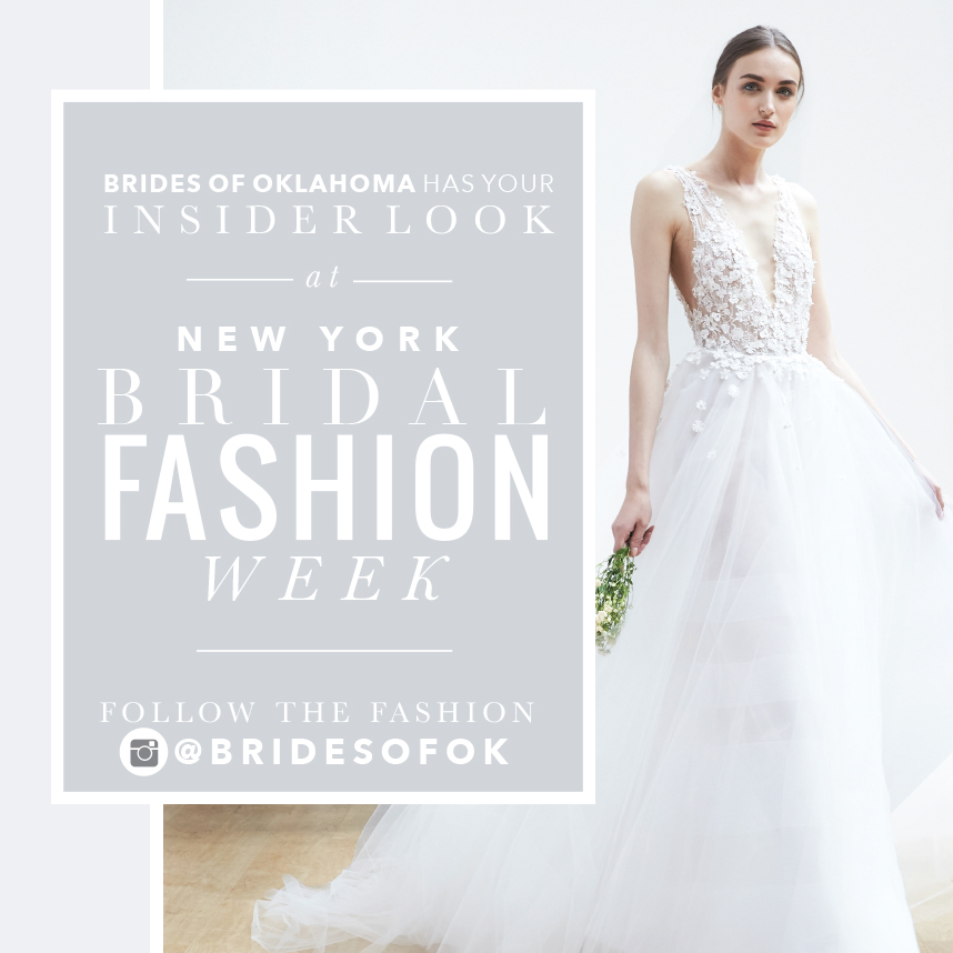 Hot Trends From New York Fall Winter 2019 Bridal Fashion Week
