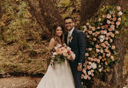 Rachel Kollmorgen Weds Kevin Hiles Autumn Brunch Wedding Captured by Peyton Rainey Photography