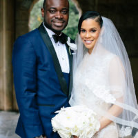Millicent Bowie Weds Dr. Bolaji Olulade Luxe Traditional Oklahoma Wedding