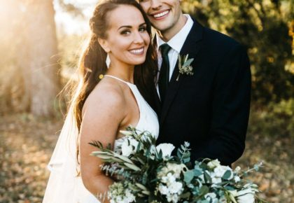 Kristi Triplett Weds Dillon Jones | Minimalistic Earthy Wedding From Kailey Watson Photography