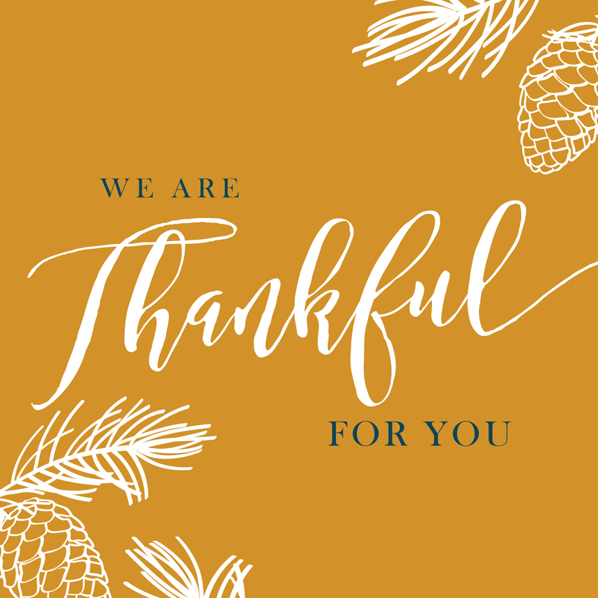 Happy Thanksgiving from Brides of Oklahoma!