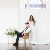 Luxe Love a Black Tie Affair Oklahoma Wedding Photographer Modern Love Photography Oklahoma Wedding Venue Festivities Event Center