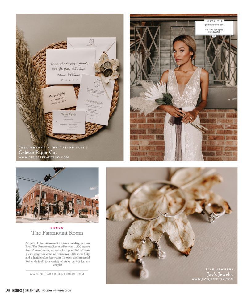 brides of oklahoma natural beauty