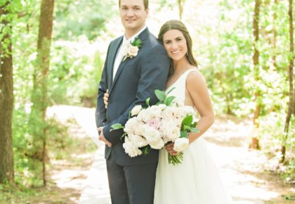 Allison Gerding Weds Kevin Kruger Luxe Pastel Southwind Hills Wedding with Surprise Guests