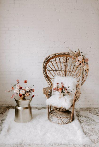 boho vintage wedding inspo