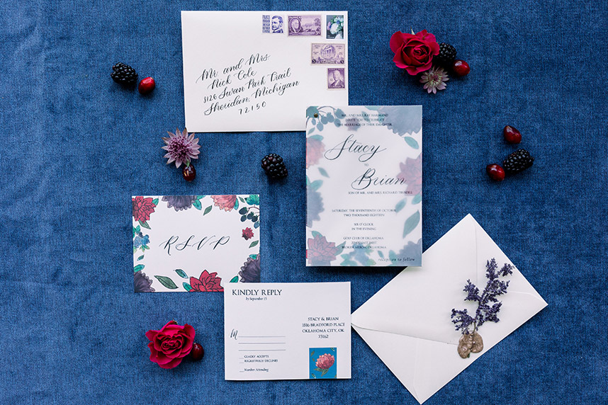 Meet the Mag Creatives: Oklahoma Wedding Invitations