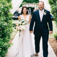 Jennifer Fritsch Weds Steve Burke Surprise Garden Wedding Captured by Josh McCulock