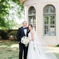 Jenny Pisklo Weds David DeGoler Traditional Tulsa Wedding from Nicole Allen Events