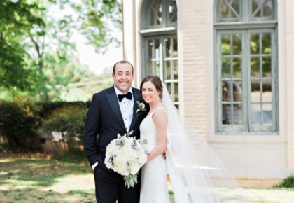 Jenny Pisklo Weds David DeGoler Traditional Tulsa Wedding from Nicole Allen Events