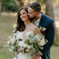 Julianna Hopper Weds Travis Hobbs Floral Filled Neutral Wedding at Spain Ranch