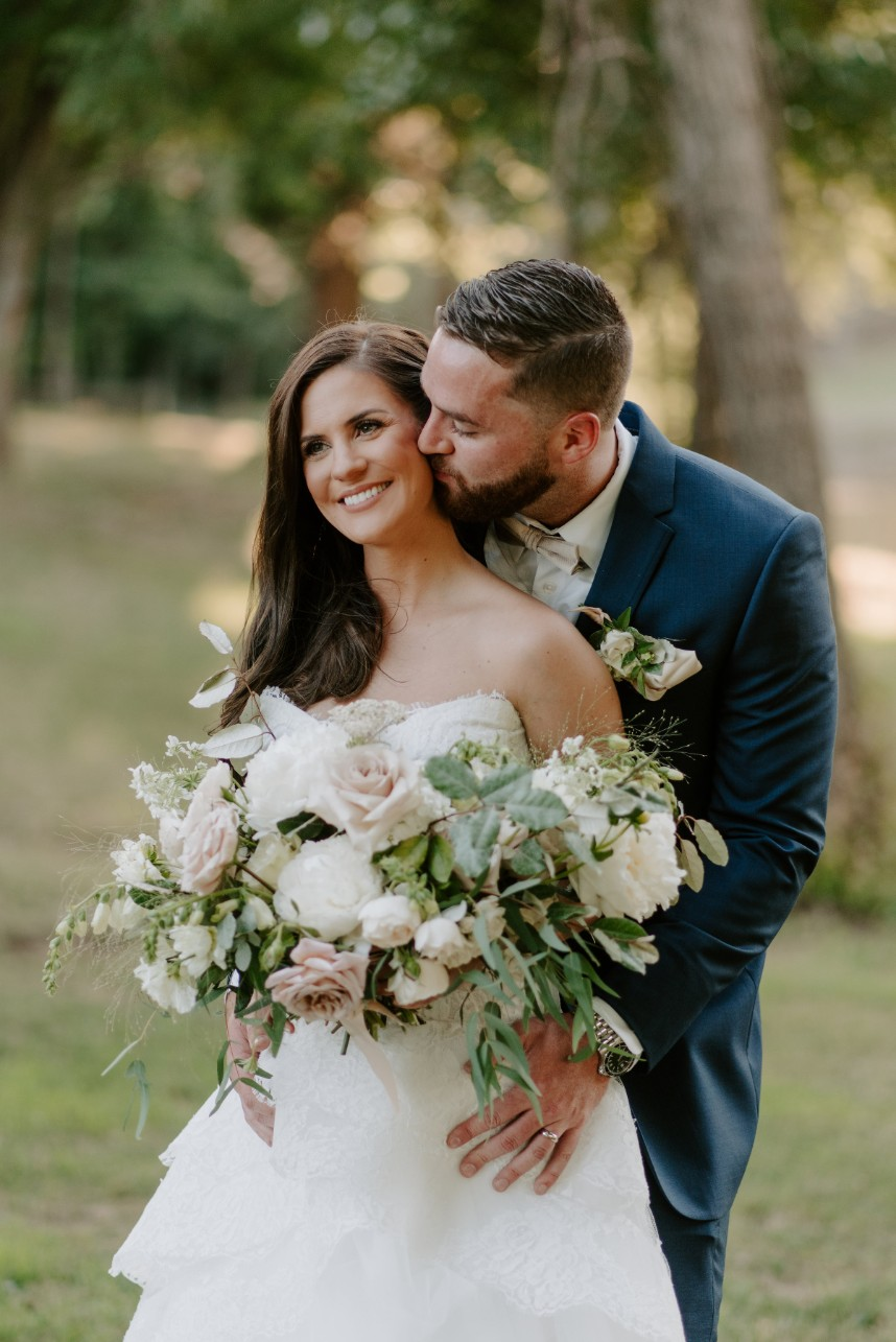 floral oklahoma wedding