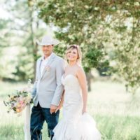 Bobbye Bedford Weds Kent Carter Rustic Backyard Garden Wedding from Chloe Photography
