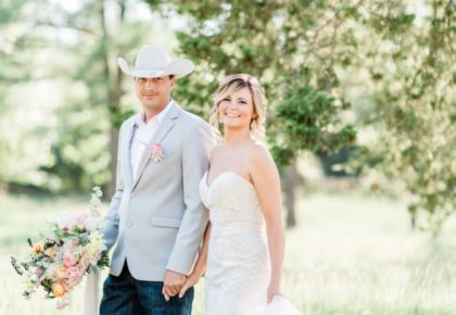 Bobbye Bedford Weds Kent Carter Rustic Backyard Garden Wedding from Chloe Photography