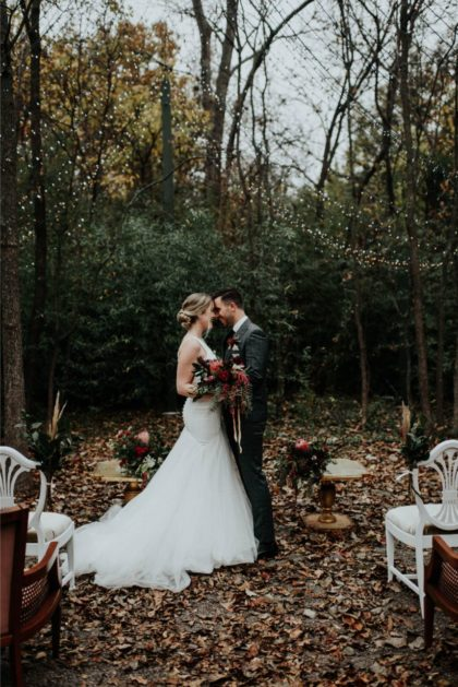 Woodsy Modern Styled Shoot from Embellished Weddings