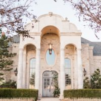 timeless blush grandeur at high pointe mansion