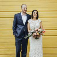 Alexandra Rebollo Weds Lance Luke Modern Oklahoma Wedding at Plenty Mercantile
