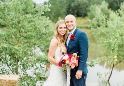 Tiffany Taylor Weds Landry Vandergriff Charming Oklahoma Wedding at The Baumberhof