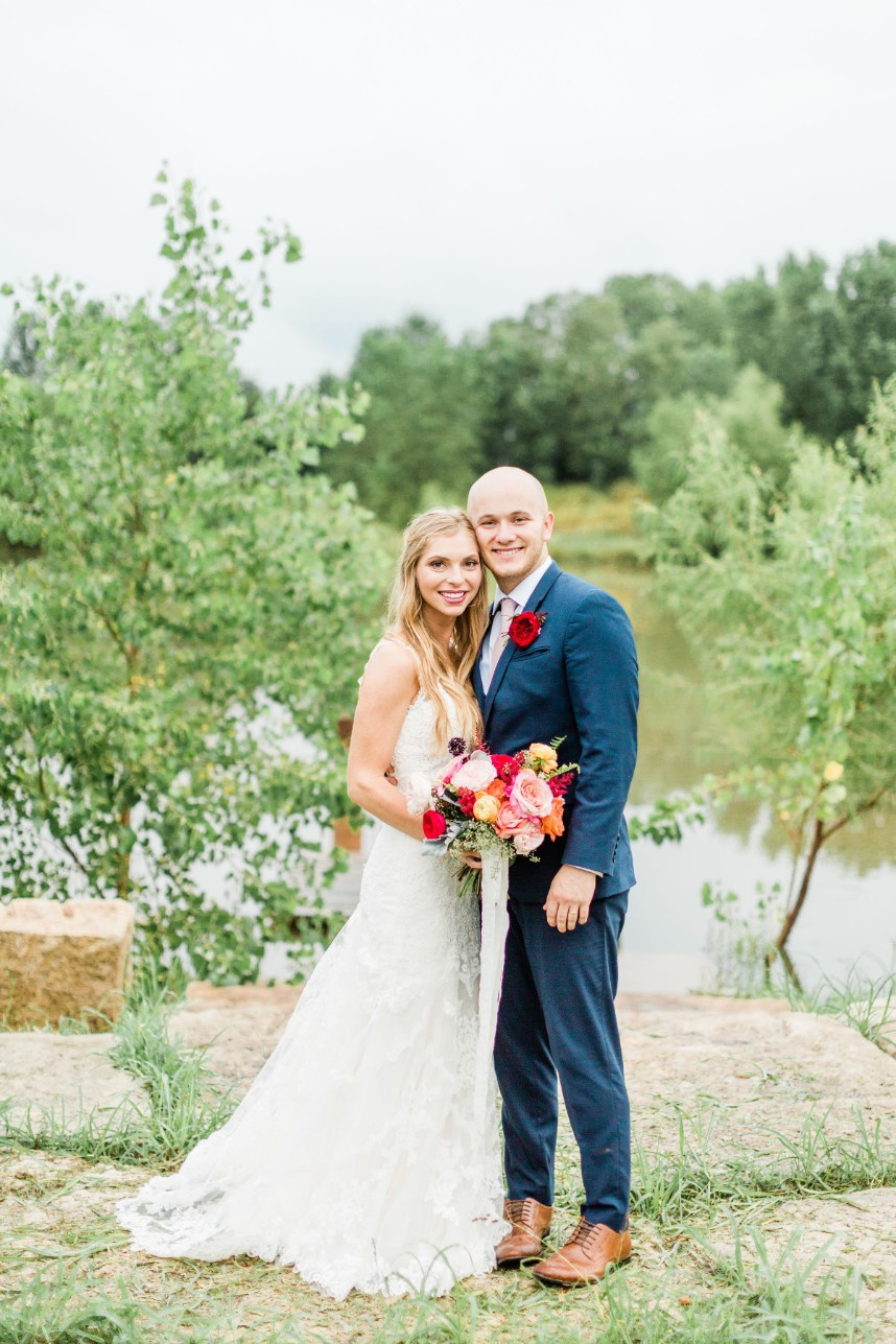 cute oklahoma wedding